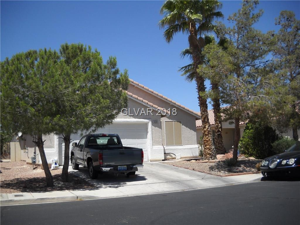 5533 ALVAREZ Street North Las Vegas, NV 89031 - MLS #: 1996953