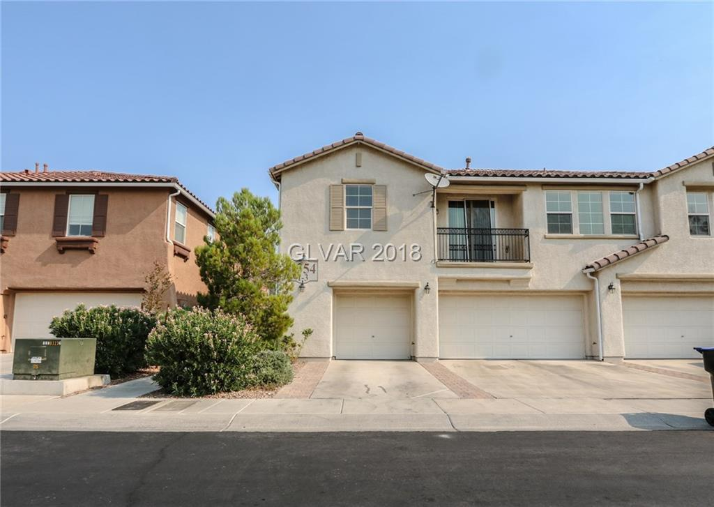 1354 GRASS CREEK Avenue Unit 3 Henderson, NV 89012 - MLS #: 2020983