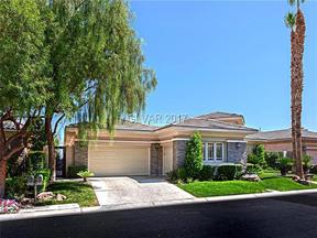 Property for sale at 2466 Green Mountain Court, Las Vegas,  NV 89135